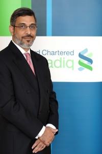 Afaq Khan, CEO of Standard Chartered Saadiq