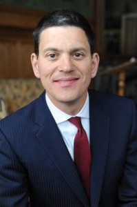 1-David Miliband, British Shadow Foreign Secretary and former Secretary of State for Foreign and Commonwealth Affairs.