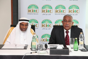 Dr Ahmad Mohamed Ali, the Chairman of the BOD and Dr. Taha the CEO of ICIEC