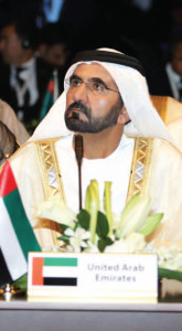 HH Sheikh Mohamed Bin Rashid Al Maktoum, UAE Vice-President and Ruler of Dubai