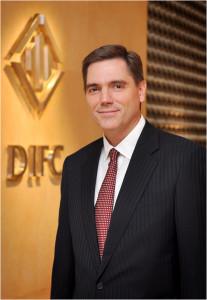 Jeff Singer, Chief Executive Officer of the Dubai International Financial Center Authority (DIFCA)