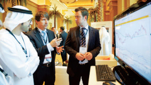 Vendors and delegates interact at 2013 GFMF