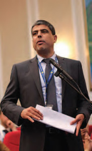 Abdul Aziz Al Hinai, vice-president finance IDB