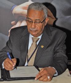 Dr Abdel Rahman El-Tayeb Taha, chief executive of ICIEC