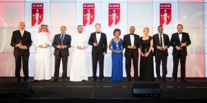 The winners of ICAEW Middle East Accountancy & Finance Excellence Awards