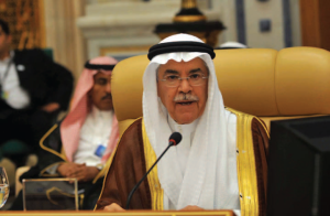 Ali Al Naimi, Saudi Arabia's oil minister (pictured above), said after an OPEC meeting that shale oil would be a 'welcome addition' to the world's energy reserves and that he was not worried about Iranian oil bringing about an oversupply. 'The market will accommodate it,' he was quoted as telling an American business news television channel