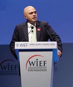 Sajid Javid, UK Financial Secretary to the Treasury