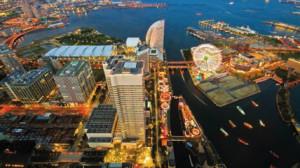 Yokohama: one of Japan's biggest ports