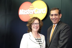 Raghu Malhotra, Division President, Middle East and North Africa & Cathy McCaul, President, Global Processing, Global Products and Solutions