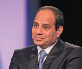 Abdul Fattah al-Sisi, new president of Egypt. The corporation in May further  signed two important agreements involving Egypt