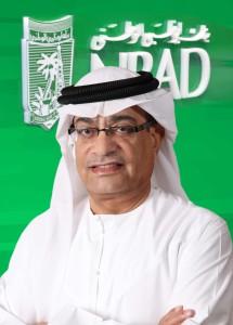 Qamber Al Mulla, the Senior Managing Director & CEO of Gulf & International of NBAD