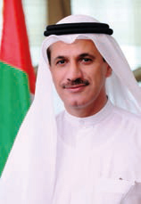 UAE Minister for the Economy H.E. Al Mansouri