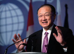Jim Yong Kim, of the World Bank