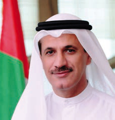 His Excellency Sultan bin Saeed Al Mansoori Minister of Economy in UAE