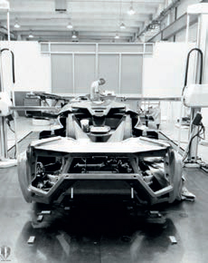 W Motors car assembly plant the Dubai-based car company, which announced its first car, the Lykan HyperSport, in 2013