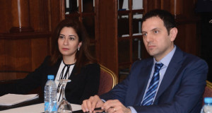 From left: Bana Akkad Azhari, Head of Relationship Management CIS & MEA, BNY Mellon and Anthony Jabbour, Head of Financial Institutions, Credit Libanais SAL