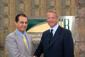 Fareed Bader and new CEO Subhi F. Benkhadra