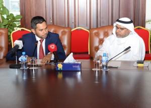 Khalid Hamad, Executive Director of Banking Supervision at the CBB & Dr. Sayd Farook, Vice-Chairman and CEO at MEGA
