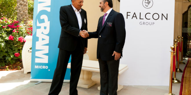 Falcon Group signs partnership with Ingram Micro company, Aptec